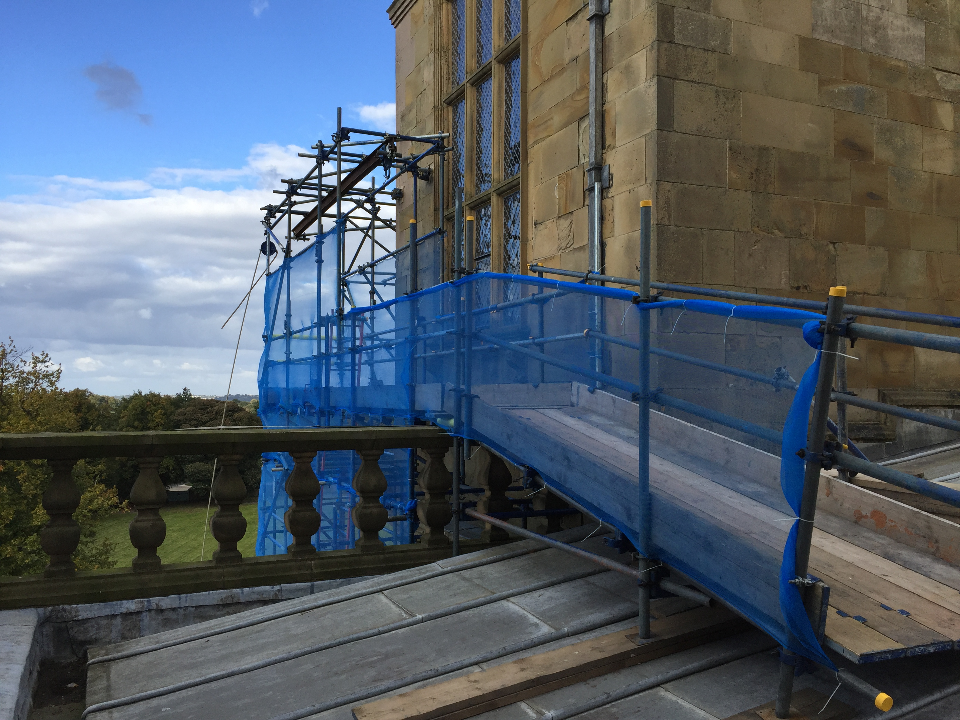 Scaffolding for Asbestos risks - Rowland Scaffold